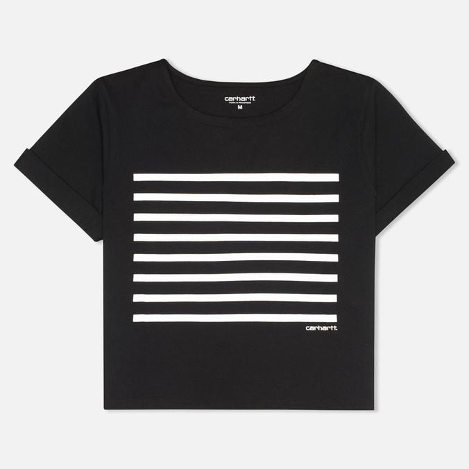 Женская футболка Carhartt WIP W' Whitney Black/White