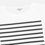 Женская футболка Carhartt WIP W' Whitney White/Black фото- 1