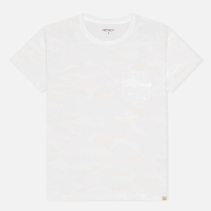 Женская футболка Carhartt WIP X' Balboa Pocket White/Camo Isle