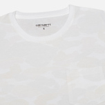 Женская футболка Carhartt WIP X' Balboa Pocket White/Camo Isle фото- 1