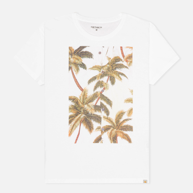 Женская футболка Carhartt WIP X' Palm White