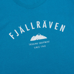 Женская футболка Fjallraven Trekking Equipment Lake Blue фото- 2