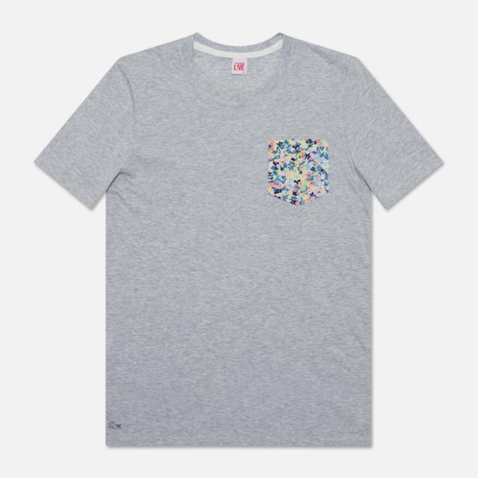 Женская футболка Lacoste Live Pocket Floral