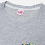 Женская футболка Lacoste Live Pocket Floral фото- 1