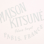 Женская футболка Maison Kitsune Crew Neck Print Palais Royal Light Pink фото- 3