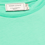 Maison Kitsune Crew Neck Print Parisien Women's T-shirt Green photo- 2