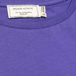 Женская футболка Maison Kitsune Crew Neck Print Parisien Purple фото- 2
