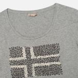 Женская футболка Napapijri Stanmore Light Grey фото- 1