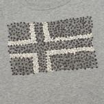 Женская футболка Napapijri Stanmore Light Grey фото- 2