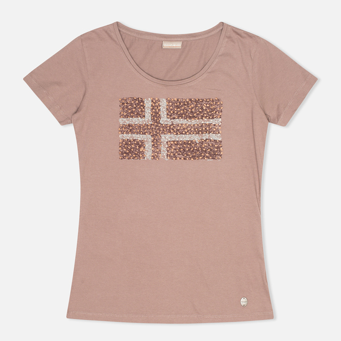 Napapijri Stanmore Women's T-shirt Mild Rose