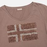 Женская футболка Napapijri Stanmore Mild Rose фото- 1