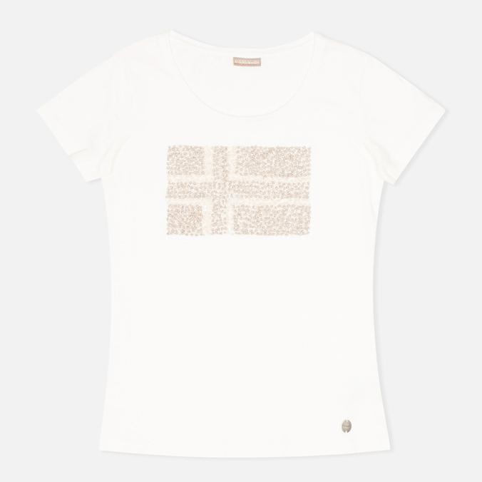 Женская футболка Napapijri Stanmore Neutro