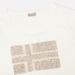 Женская футболка Napapijri Stanmore Neutro фото- 1