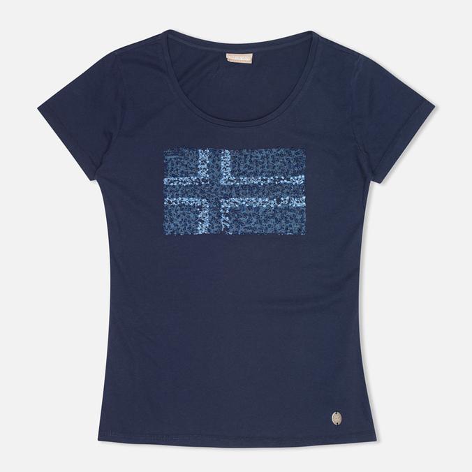 Женская футболка Napapijri Stanmore Persian Blue