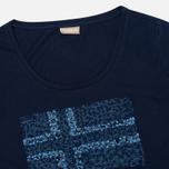 Женская футболка Napapijri Stanmore Persian Blue фото- 1