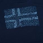 Женская футболка Napapijri Stanmore Persian Blue фото- 2