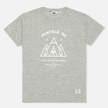 Penfield Teepee Women's T-shirt Grey Melange photo- 0