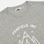 Penfield Teepee Women's T-shirt Grey Melange photo- 1