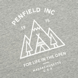 Penfield Teepee Women's T-shirt Grey Melange photo- 2