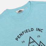 Женская футболка Penfield Teepee Sea Blue Melange фото- 1