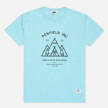 Женская футболка Penfield Teepee Sea Blue Melange фото- 0