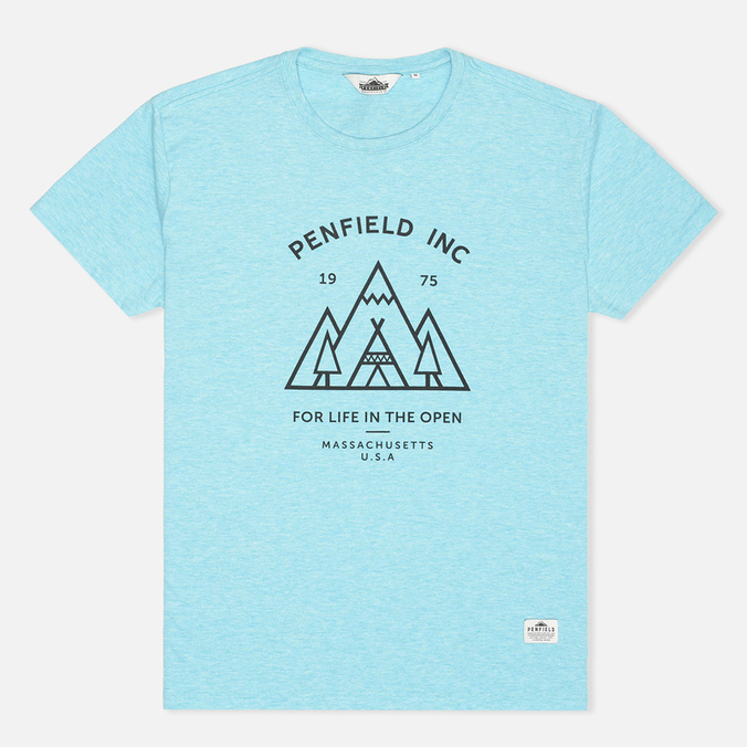 Женская футболка Penfield Teepee Sea Blue Melange