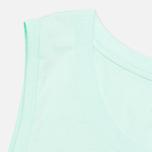 Женская футболка WT Floral Muscle Scoop Aqua фото- 3