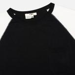 Женская футболка YMC Jersey Block Knit Black/White фото- 1