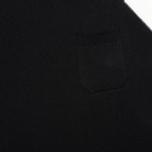 Женская футболка YMC Jersey Block Knit Black/White фото- 2