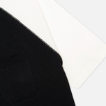 Женская футболка YMC Jersey Block Knit Black/White фото- 3