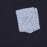 Мужская футболка Woolrich Printed Pocket Navy фото- 2