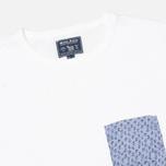 Мужская футболка Woolrich Printed Pocket White фото- 1