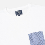 Woolrich Printed Pocket Men's T-shirt White photo- 1