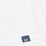 Woolrich Printed Pocket Men's T-shirt White photo- 3