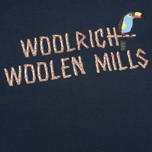 Мужская футболка Woolrich Woolen Mills Bamboo Print With Bird Navy фото- 2
