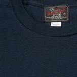 Мужская футболка Woolrich Woolen Mills Bamboo Print With Bird Navy фото- 3