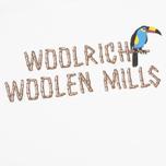 Мужская футболка Woolrich Woolen Mills Bamboo Print With Bird White фото- 2