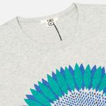 Мужская футболка YMC Flower Print Grey фото- 1