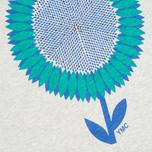 Мужская футболка YMC Flower Print Grey фото- 2
