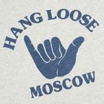 Мужская футболка YMC Hang Loose Moscow Grey фото- 2