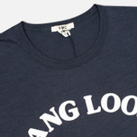 Мужская футболка YMC Hang Loose NYC Navy фото- 1