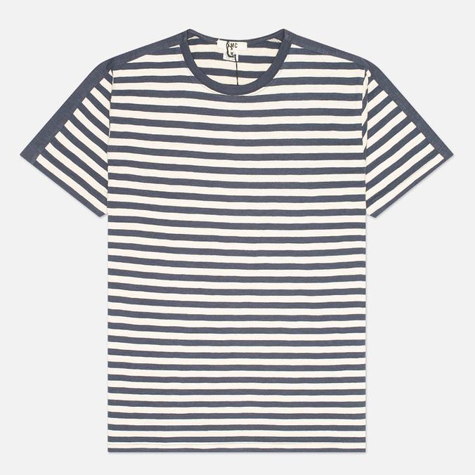 Мужская футболка YMC Panel Stripe Navy