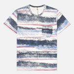 Мужская футболка YMC Sprayed Effect Multicolour фото- 0