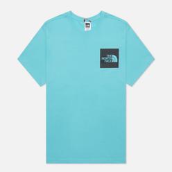Мужская футболка The North Face Fine SS Transantarctic Blue