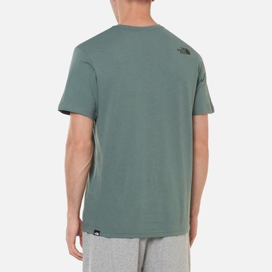 Мужская футболка The North Face Fine SS Balsam Green