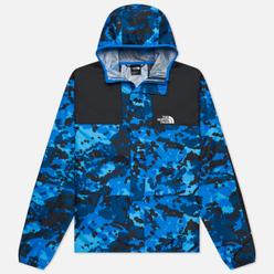 Мужская куртка ветровка The North Face 1985 Seasonal Mountain Clear Lake Blue Himalayan Camo