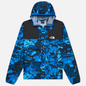Мужская куртка ветровка The North Face 1985 Seasonal Mountain Clear Lake Blue Himalayan Camo фото - 0