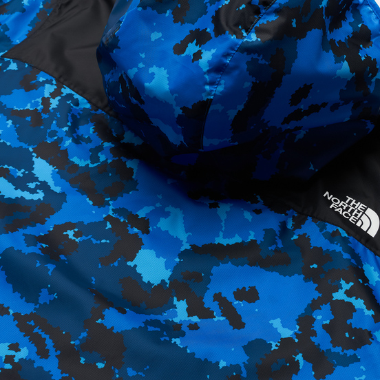 Мужская куртка ветровка The North Face 1985 Seasonal Mountain Clear Lake Blue Himalayan Camo