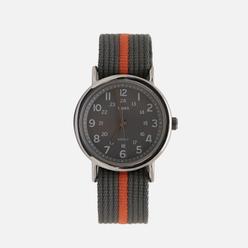 Наручные часы Timex Weekender Silver/Grey/Orange