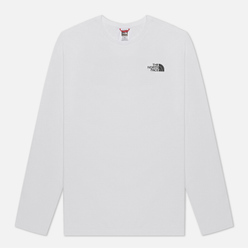 Мужской лонгслив The North Face Easy LS TNF White/TNF Black